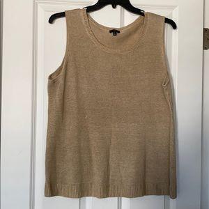 Talbots sleeveless tank sweater